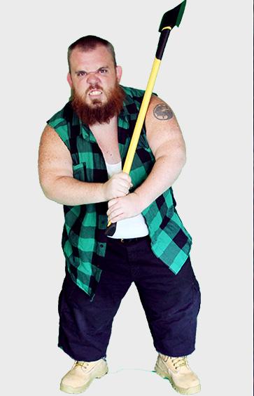 Midget wrestler 2